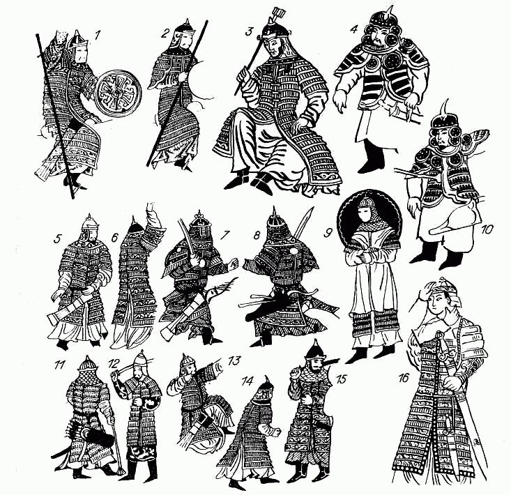 монгольские ламелляры