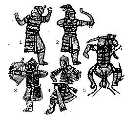 изображения монгольских латников