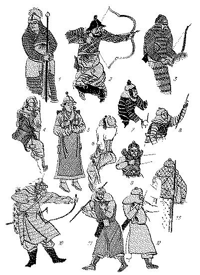 монгольские доспехи