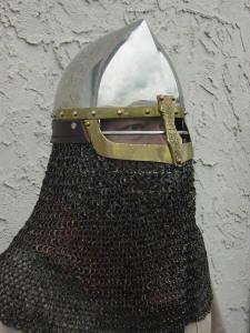 шлем с бармицей