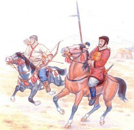 китайскі воїни