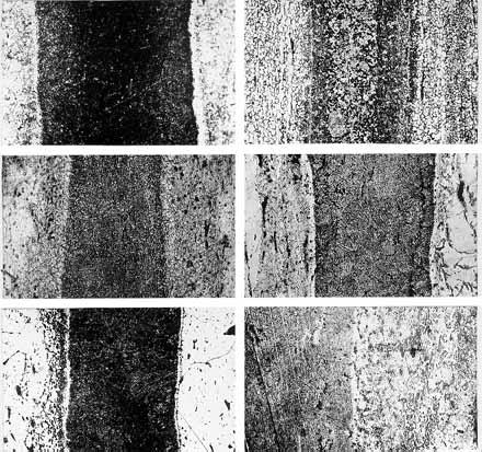 микроструктуры изделий из сварных