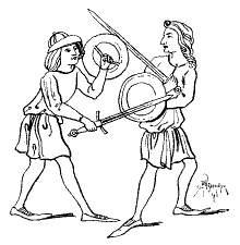 меч щит