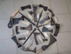 Коллекция древнего и средневекового оружия и орудий труда