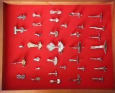 Коллекция серебряных фибул позднего периода Римской империи