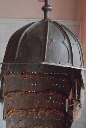 Тибетский сегментный шлем