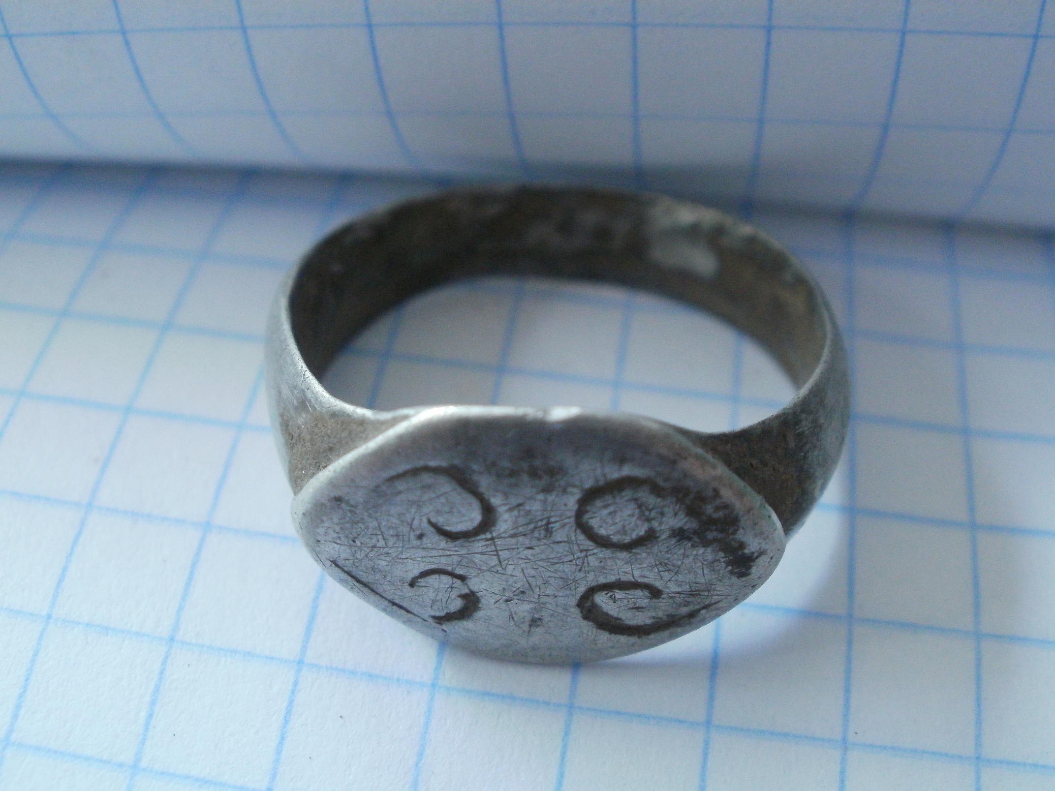 кольцо поздняя русь 12-14 век показывает среднее количество