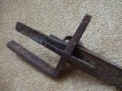 Полуоткрытая рукоять сабли