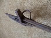 Вид на перекрестье и колькцо для продевания пальца