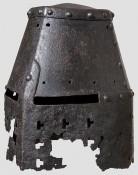 немецкий Топфхельм, начало 14 века
