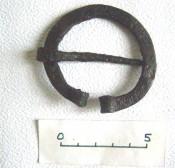 Фибула, славяне 10-13 век