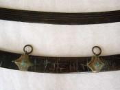 Обоймы и кольца ножен сабли