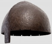 Рыцарский шлем с носовой пластиной