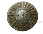 Турецкий щит Калкан из железа и плетенного тростника