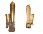 Трубчатые наручи с кольчужными рукавицами