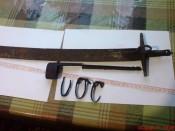 Прибор ножен казацкой сабли