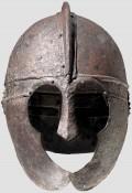 Поздний римский железный шлем