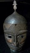 исламский шлем с забралом-маской