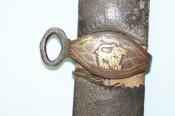Обойма и кольцо ножен сабли персидского стиля