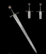 Полутораручный рыцарский меч сер. 14 века