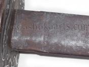 Массивный антикварный двуручный меч из Вьетнама