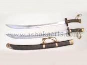 Парный меч дао, украшенный бычьими хвостами