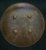 Круглый стальной персидский щит Дхал