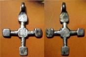 нательный крестик Киевской Руси