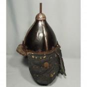 Корейский кожаный шлем