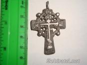казацкий серебряный крест