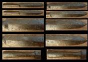 Реставрация наконечника копья - конечный результат
