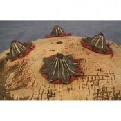 Кожаный щит индо-персидского стиля