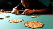 Золотые артефакты из Сингапура