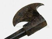 Старинный индийской топор табар