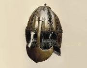 Кольчато-пластинчатый шлем