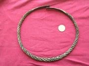 серебрянная шейная гривна