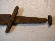 Хазарский однолезвийный меч