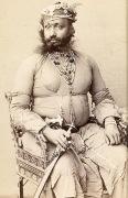 Индус, вооруженный саблей