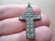 Бронзовый казацкий крестик