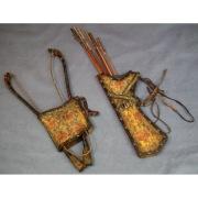 Саадак - комплект из лука налучья и колчана со стрелами