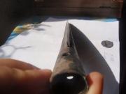 Бронзовый наконечник копья