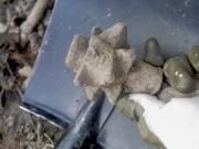 Находка бронзовой булавы