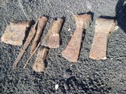 Клад средневекового инструмента