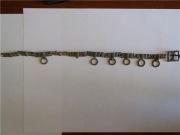 Посеребренный, с осттками позолоты поясной набор