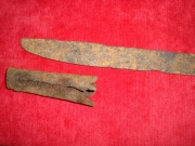остриё и наконечник ножен палаша
