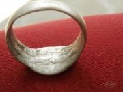 Серебрянный перстень 15 века