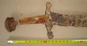 рукоять аланского палаша-сабли