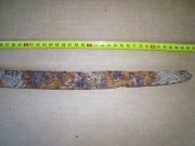 острие аланской сабли эпохи Хазарского каганата