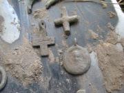 предметы сопутствующие шлему  Могила