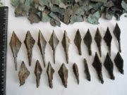 Раннесредневековые наконечники стрел